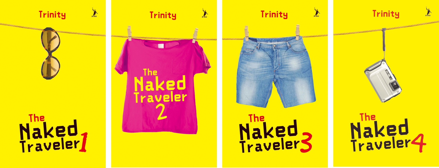"Buku ""The Naked Traveler"" Republish"