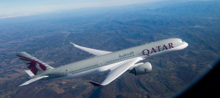 [Adv] Jadi saksi sejarah peluncuran pesawat A350 Qatar Airways