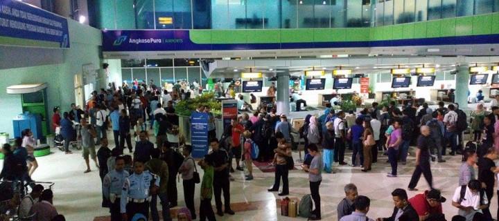 Terdampar di bandara Lombok