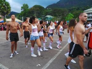 Salah satu tim lokal Seychelles