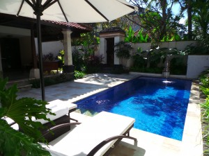The Club Villas' private pool