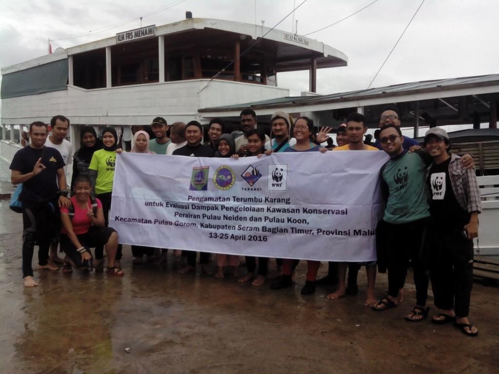 Tim #XPDCKOON tiba di Pulau Gorom