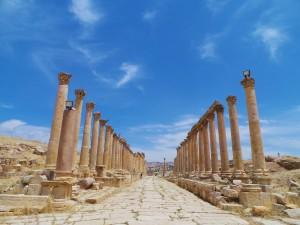 Jalan di Jerash