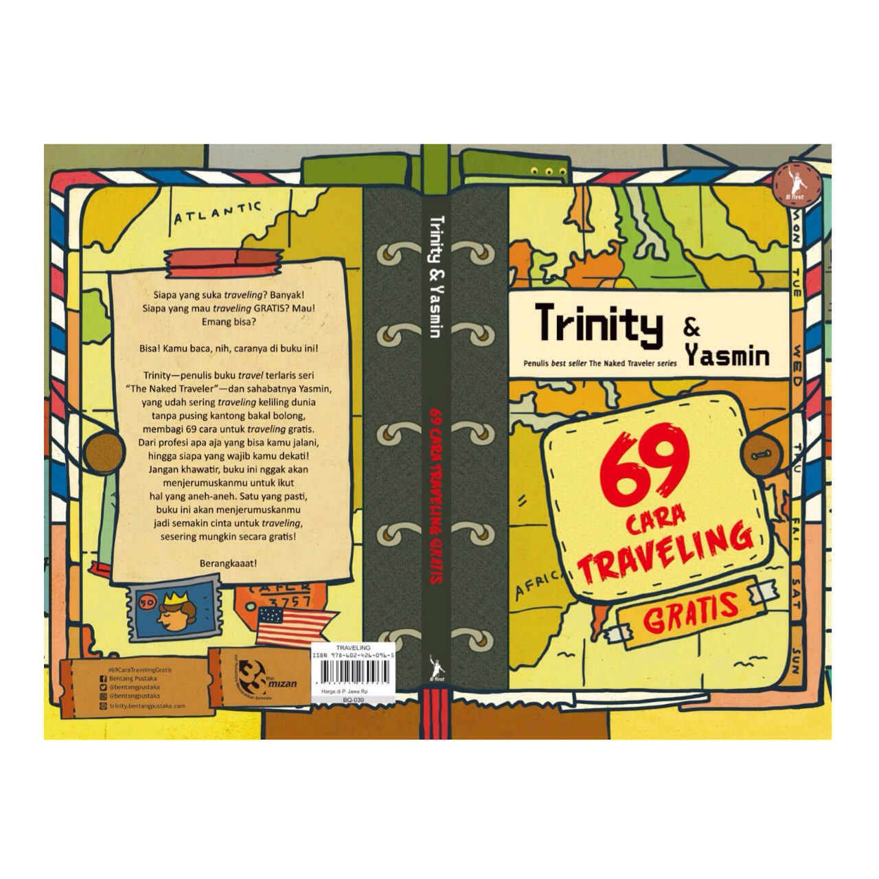 [Buku Terbaru] 69 Cara Traveling Gratis