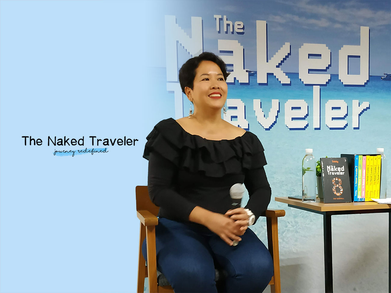 The Naked Traveler: Journey Redefined