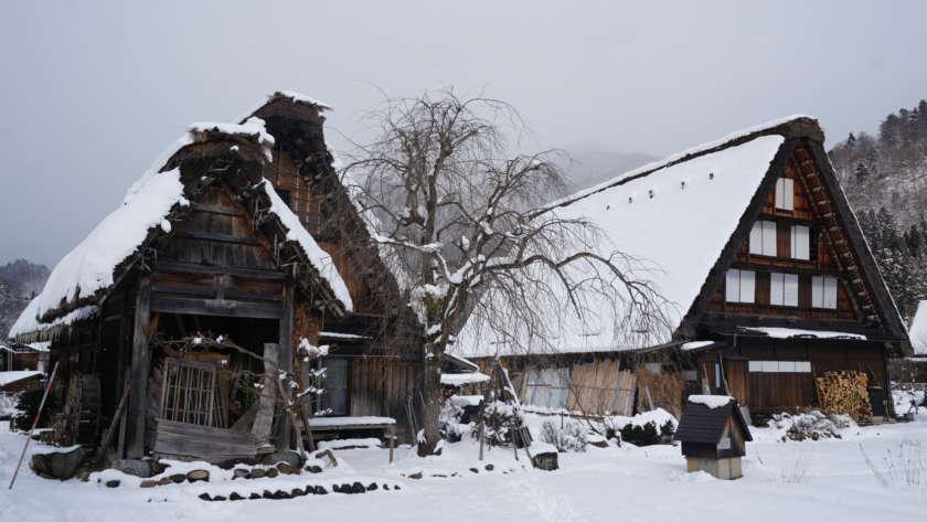 Cantiknya Shirakawa-go dan Jepang Tengah pada musim dingin