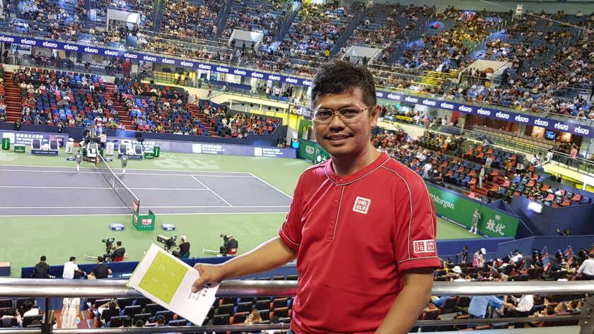 Ke Shanghai Demi Roger Federer